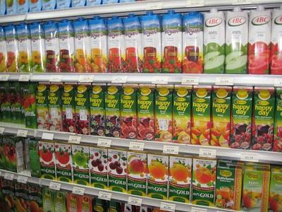 фруктовые соки из пакетов