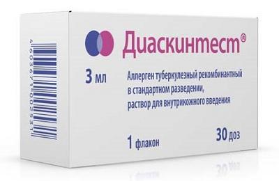 Диаскинтест является препаратом для аллергодиагностики туберкулеза