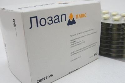 Таблетки Лозап