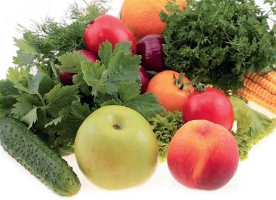 Витамин А содержится в продуктах имеющие зеленый, красный и желтый цвета