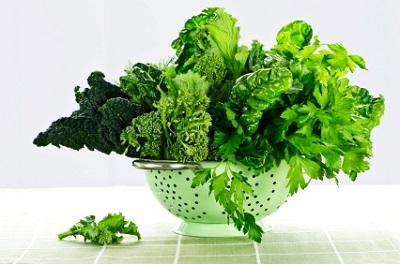 зеленолистные овощи
