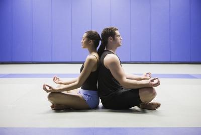 Медитация с другом