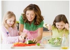 обучение детей приготовлению еды