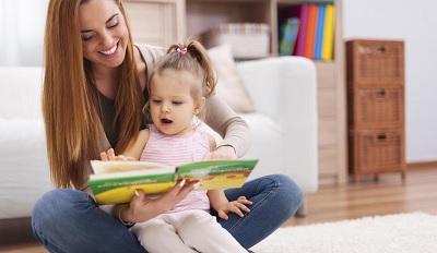 чтение книг вместе с детьми