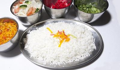 Рис с другими блюдами