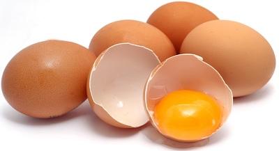 Употребление яиц