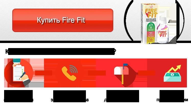 Купить Fire Fit капли для похудения